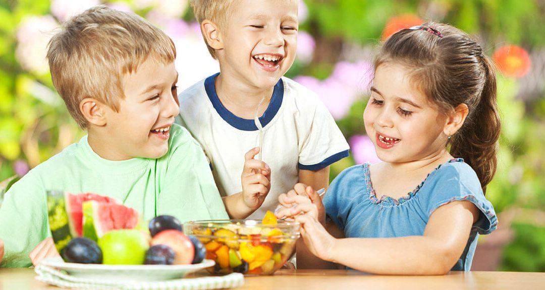 Alimentos que mejoran el estado de animo en los niños